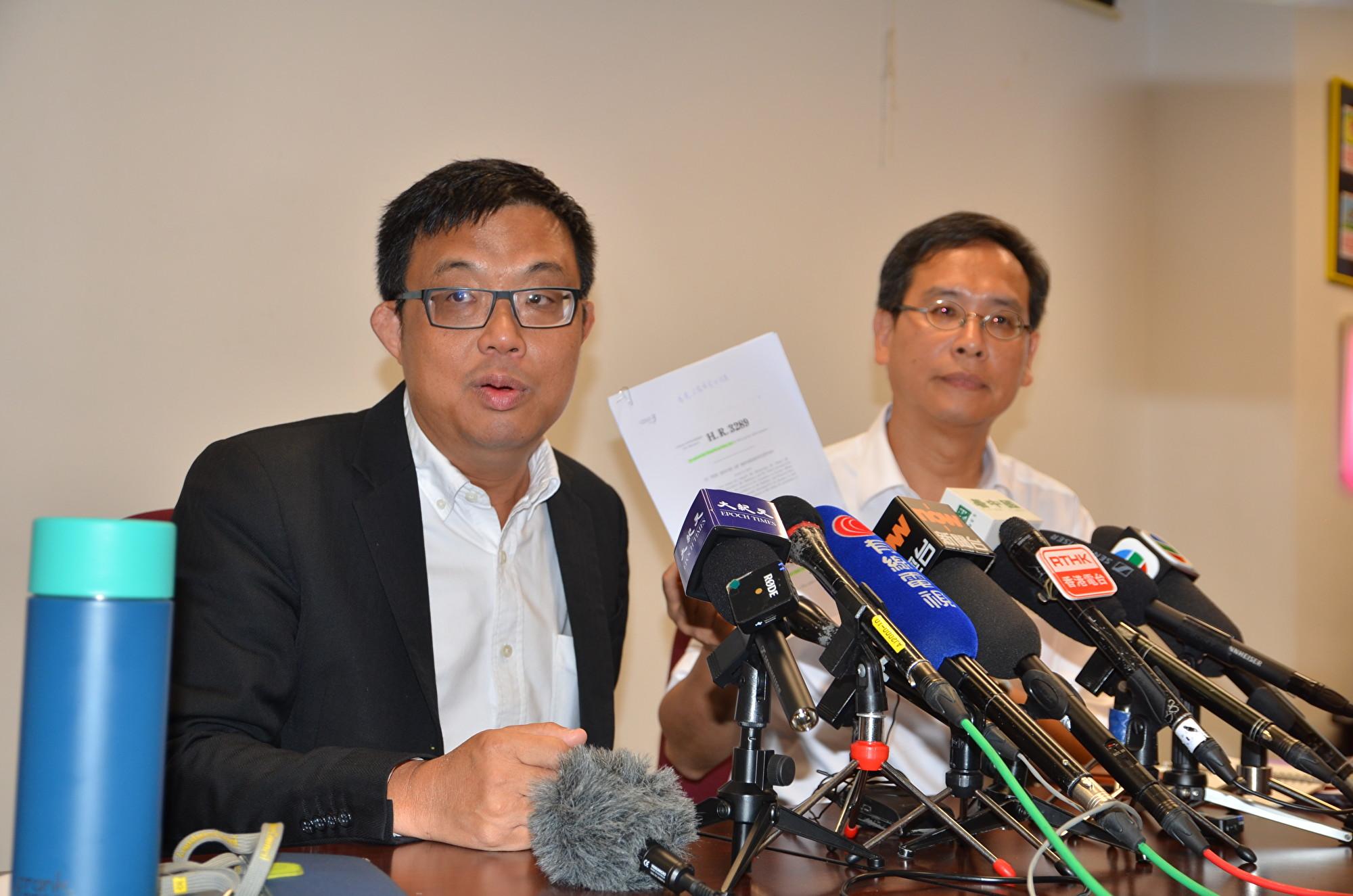 中美貿易再添變數下 香港議員談美國行受關注