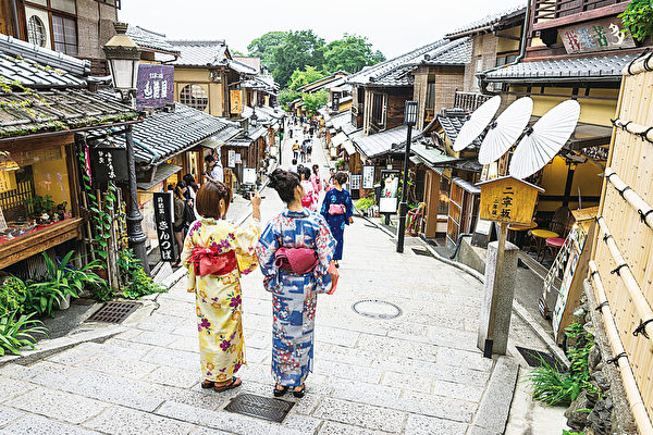 京都古香古色的街道。(Fotolia)