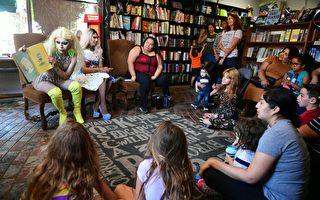 「變裝皇后」要給兒童講故事 引發抗議