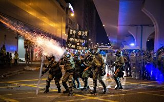 美国会议员呼吁对香港停售催泪瓦斯