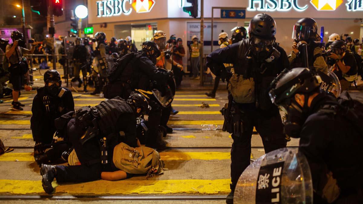 戈壁東:香港民眾敲響了中共喪鐘