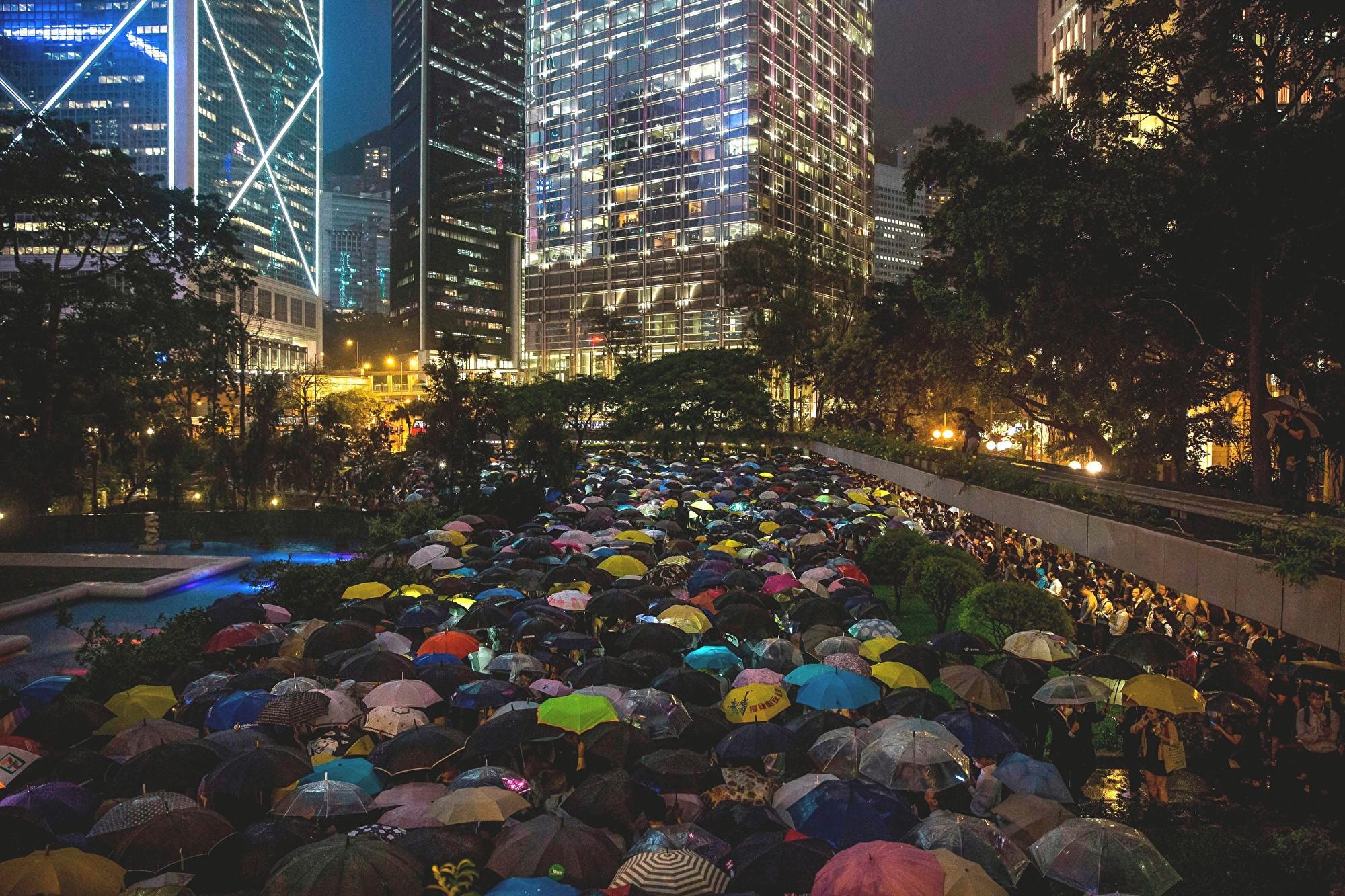 致港人不孤單:香港反送中運動 大陸同胞無比珍惜