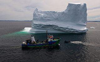 """加拿大船长猎取新""""白金""""——海上冰山"""
