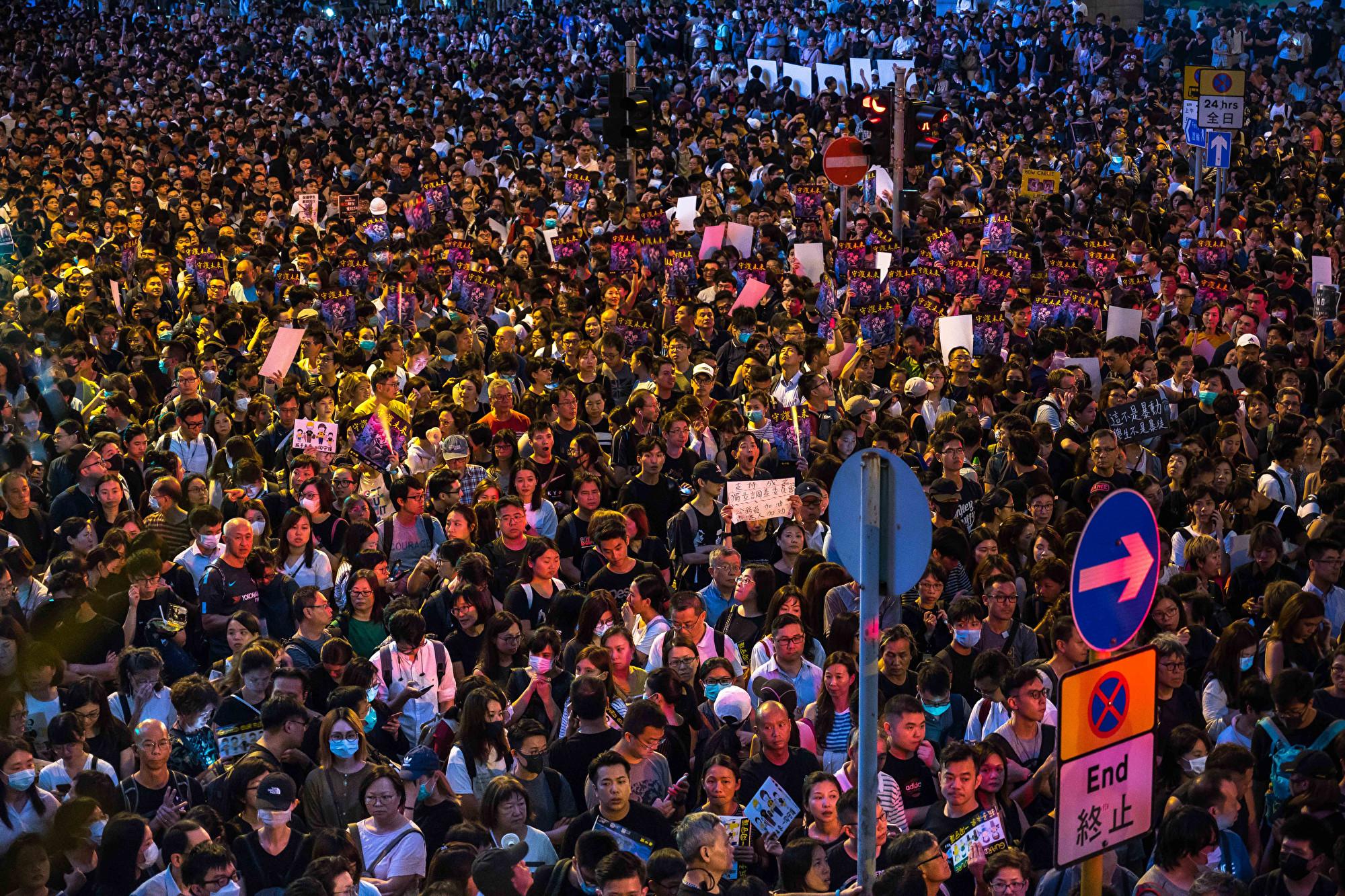 譚笑飛:如果中共在香港戒嚴