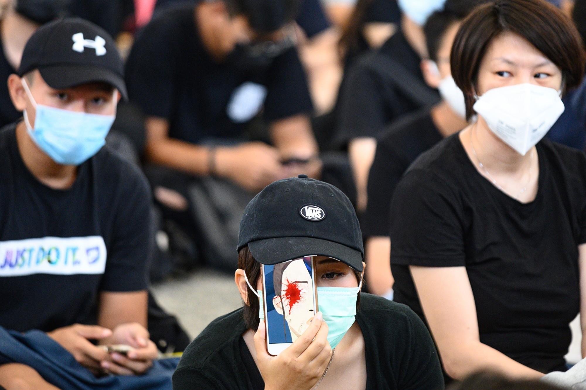 為了解反送中 日本10歲女孩赴港訪問抗議者