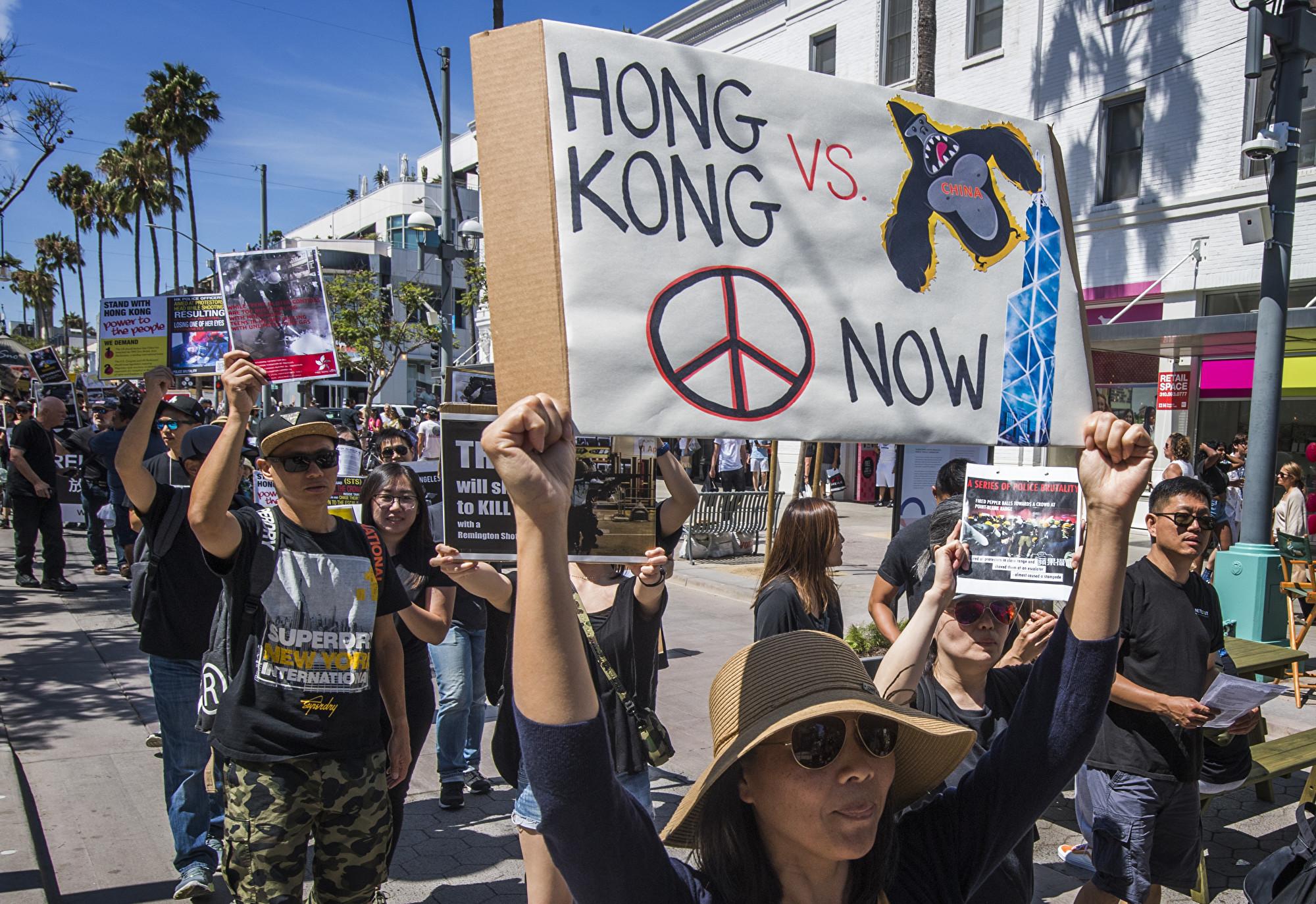 澳門居民試圖集會支援香港反送中 7人被捕
