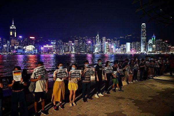 反送中 人链 香港之路