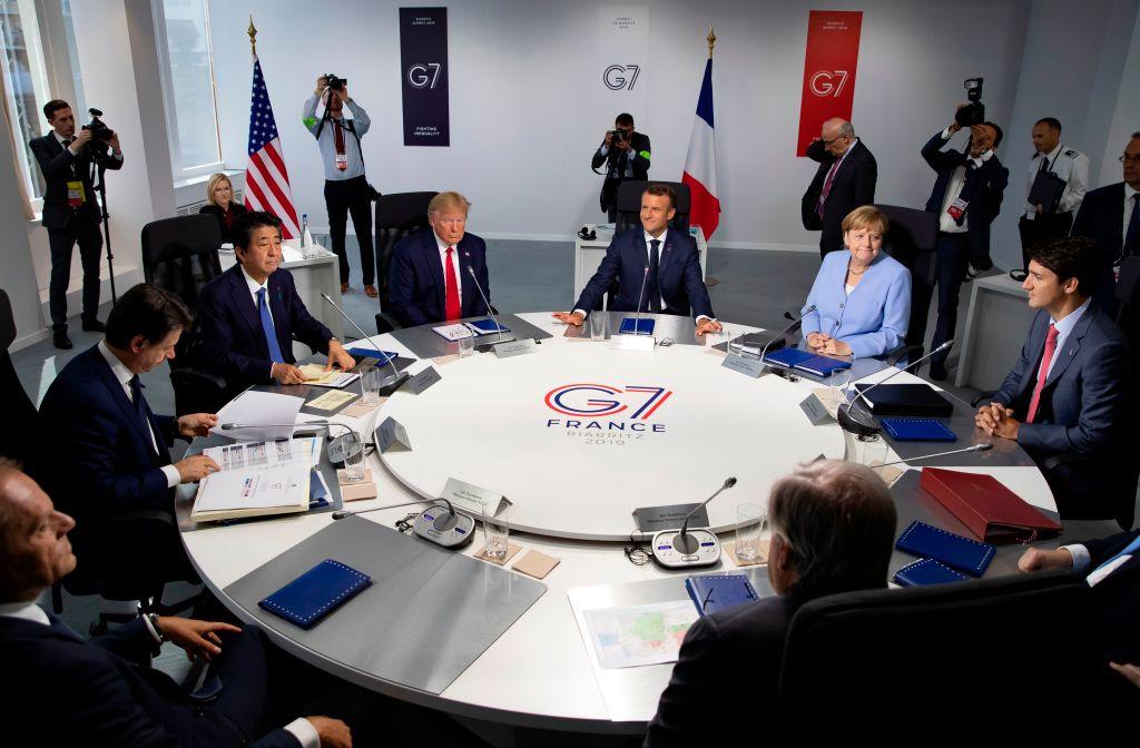 伊朗外長突闖G7峰會 特朗普拒絕會面