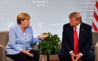川普G7见默克尔 谈贸易战伊朗和ISIS