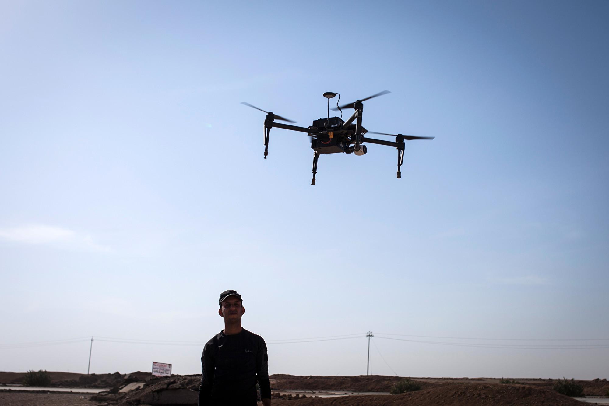 炸彈無人機電力不足返航 ISIS分子反被炸死