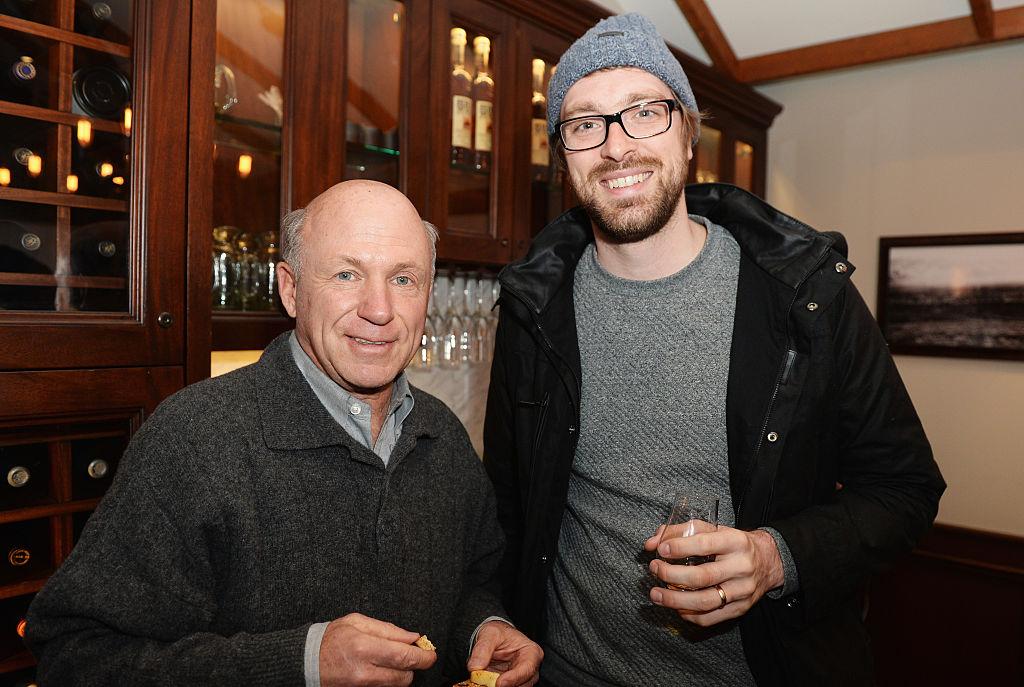 凱西家族成員丹·凱西(Dan Cathy,左)。 (Gustavo Caballero/Getty Images for Pinewood Studios Group)