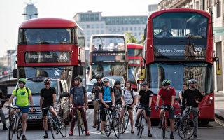 在英國駕車應如何對待騎自行車者