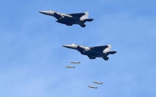 朝鲜实弹轰炸韩国F-15K战机模型 挑衅升级