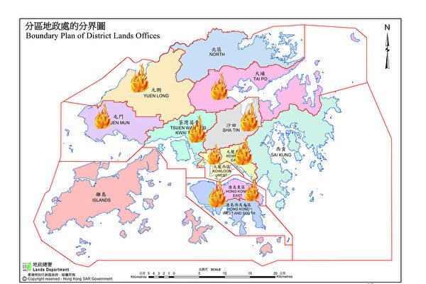 反送中59天 港警发催泪弹覆盖大半香港