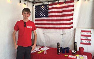 助川普在深藍州擴大陣營 年輕學子挑大梁