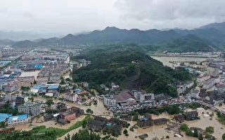 利奇马台风重创浙江 致32死16失联