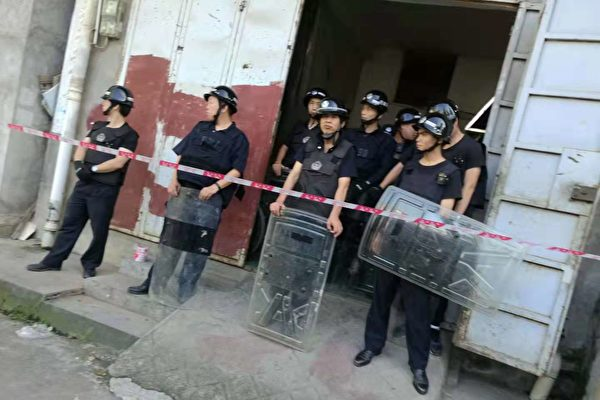 多年舉報上訪無果 廣西村民扔汽油抵抗強拆