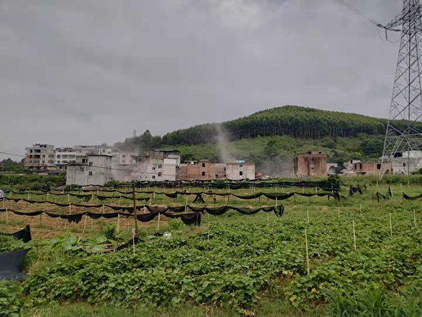 廣西柳州市城中區牛車坪村多年來暴力強拆,村民誓死保衛家園,民不聊生。(受訪者提供)
