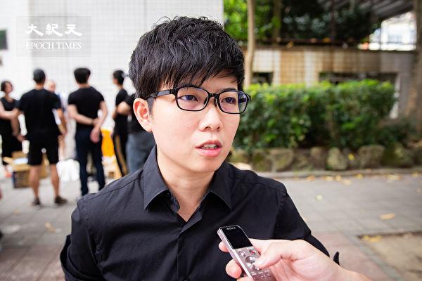 台北市議員苗博雅8月15日表示,紅媒最嚴重的影響,就是扭曲台灣的言論市場,透過大力報道吹捧造神,讓選民無法獲得公平、正確的資訊,進而導致選舉結果的扭曲。(陳柏州/大紀元)