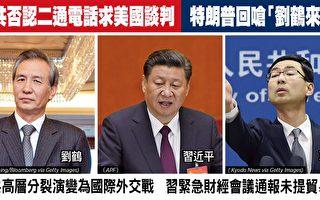 中共否認致電求談判 川普回嗆:劉鶴來電