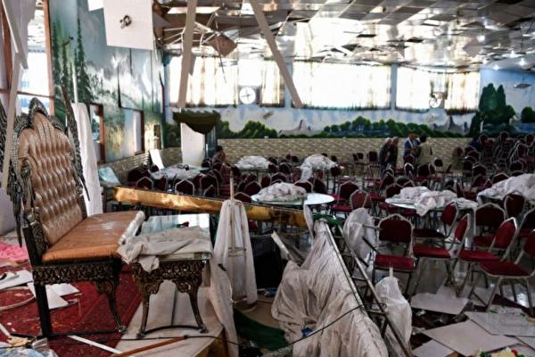 阿富汗婚宴遭自殺攻擊 63死180傷