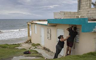 多利安风暴在美属维尔京群岛转强为一级飓风