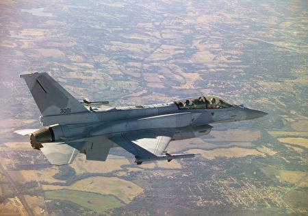 美國總統川普在週日(8月18日)證實,他已經批准出售價值80億美元的66架F-16V戰機給台灣。圖為示意圖。