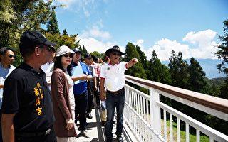 清境高空步道二期工程  预定8月底完工
