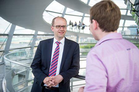 德國最大的執政黨基民盟(CDU)人權事務發言人布蘭德(Michael Brand)。(布蘭德個人網站)