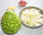 瓠瓜就是扁蒲、蒲瓜,是热量低又有消水肿益处的瓜类蔬菜。(摄影:赖瑞)