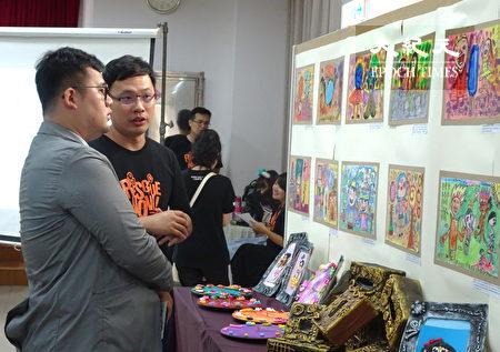 大众看见台湾世界展望会桃园中心才艺成果的呈现。