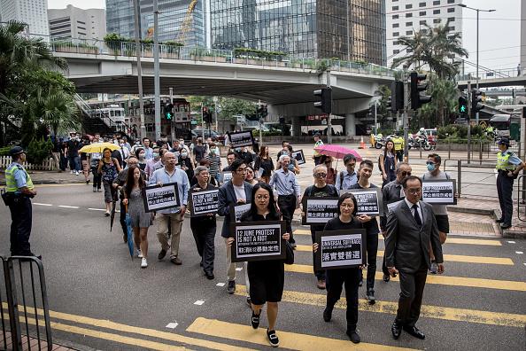 【8.23反送中】香港會計界首次遊行5000人參加