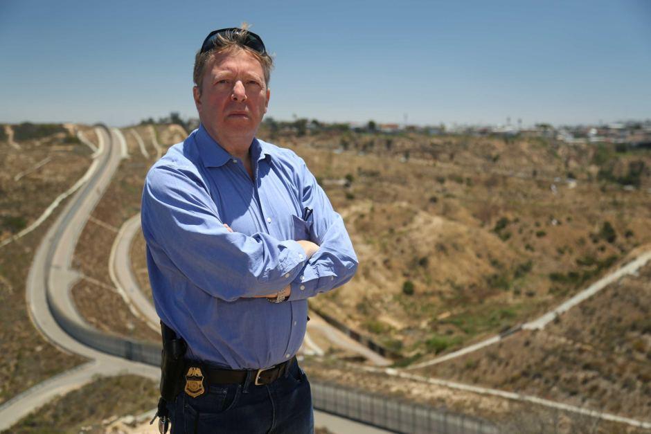 聖地牙哥退休邊境巡邏員克里斯·哈瑞斯(Chris Harris)。(哈瑞斯提供)