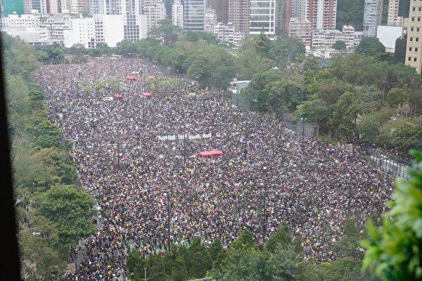 170萬港人和平抗暴 流水式集會再創歷史