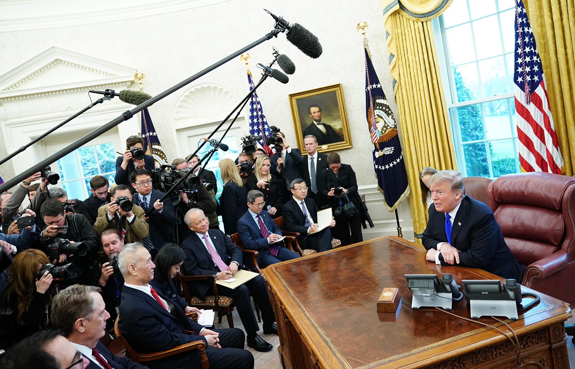 英媒:貿易談判無法解決中美根本分歧