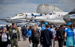 場面尷尬 中製無人機在俄航展嚴重受損