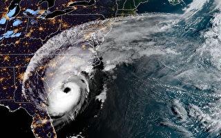 颶風多利安襲卡羅來納 預計70萬戶斷電