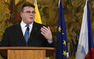 中使館干擾反送中示威 立陶宛召見中共大使
