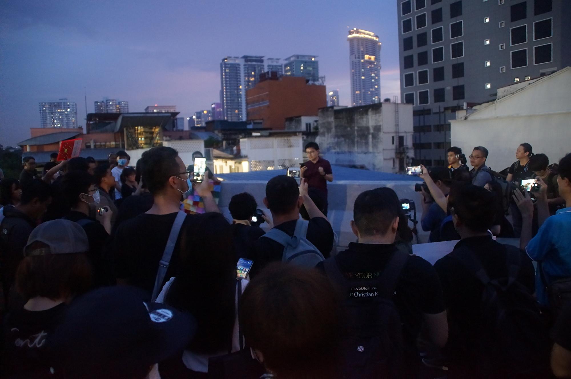 【9.29反極權】無懼中共施壓 大馬撐港集會如期舉行