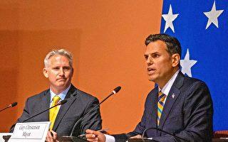 摩頓市長大選 柯廷森與麥福森首次辯論