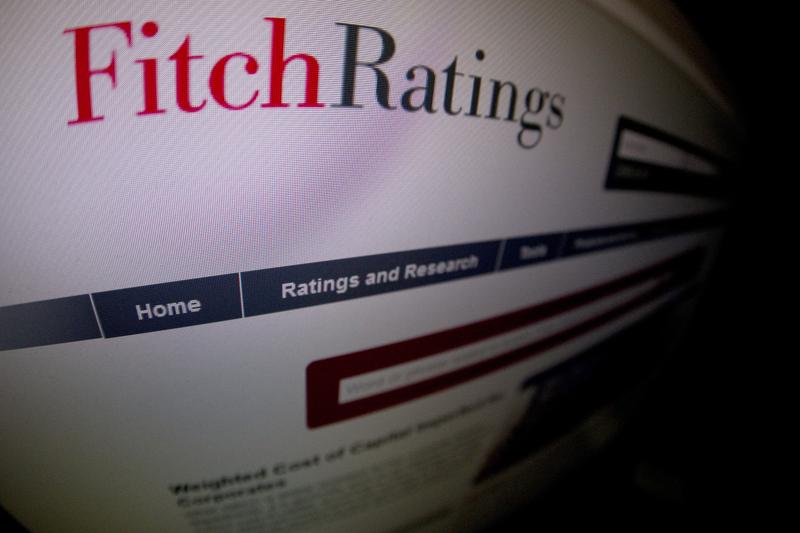 國際信評機構惠譽(Fitch)9月5日將香港發行人違約評級(IDR)從AA+降為AA,評級展望為負面。(JOEL SAGET/AFP)