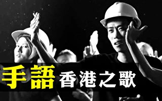 【拍案惊奇】香港之歌出手语版!港人百日宣言