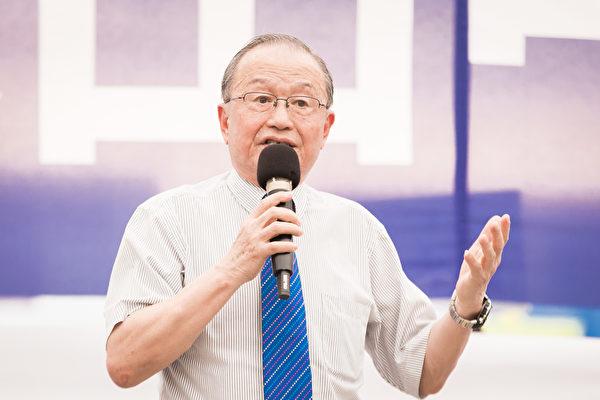 台灣投資中國受害者協會理事長高為邦,資料照。(陳柏州/大紀元)