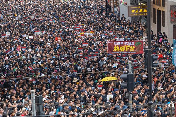 張林:人類自由精神在香港閃光