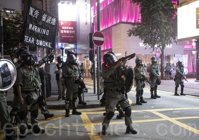 港警威脅使用實彈 民權觀察:恐釀人道災難