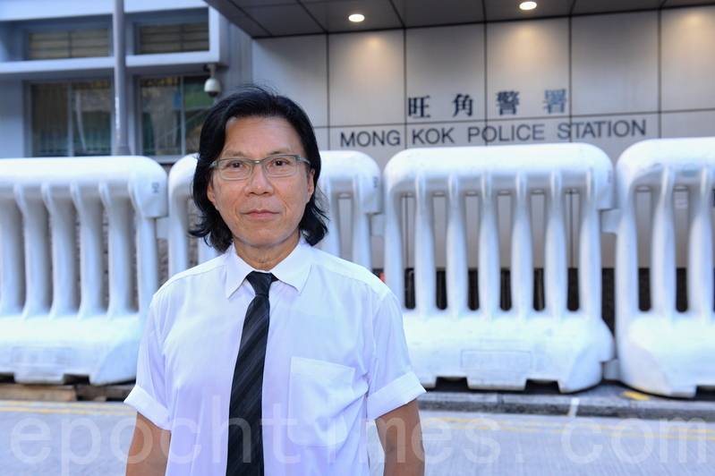 香港民主派人士、律師黃國桐。(宋碧龍/大紀元)