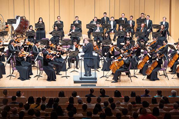 2019年9月20日晚 神韵交响乐团在屏东县演艺厅演出 台湾第二场演出