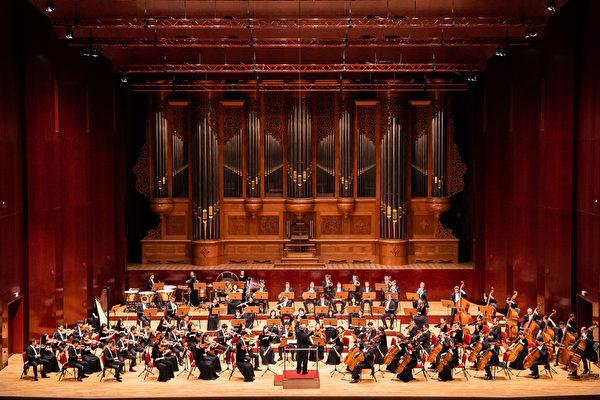 2019年9月23日午間,神韻交響樂團在台北國家音樂廳演出。(陳柏州/大紀元)