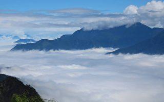 【視頻】阿里山現罕見雲海雲瀑 遊客驚艷