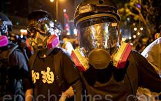 不再畏惧警暴 香港年轻人从和理非变勇武派